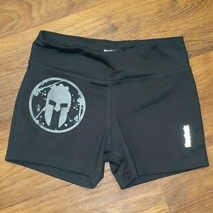 Reebok Spartan race spandex booty workout shorts